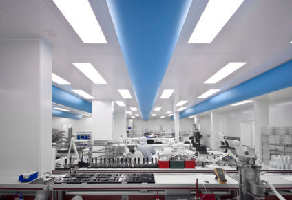 Highcare Cleanrooms verlichting